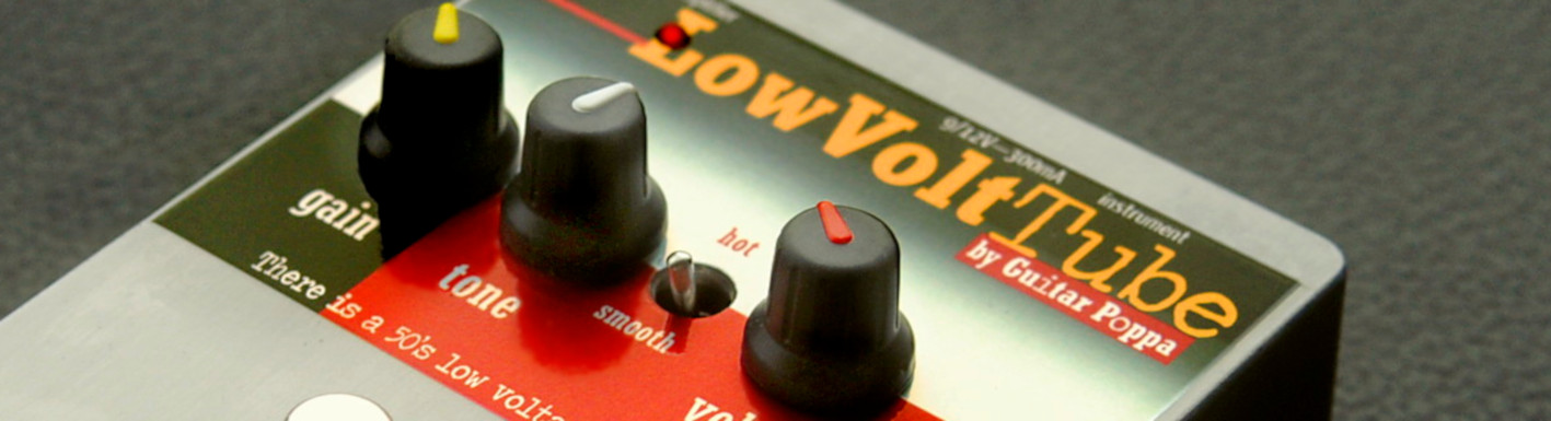 LowVoltTube by Guitarpoppa.com, preamp/overdrive with a NOS low voltage tube