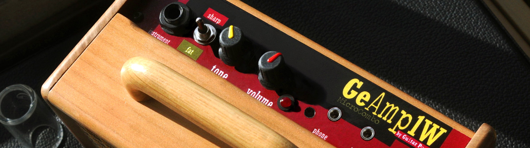 MicroCombo1W by Guitarpoppa.com, a portable germanium micro-amp for harmonica and guitar