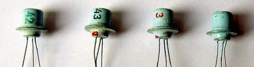 Transistors Sesco des 60s