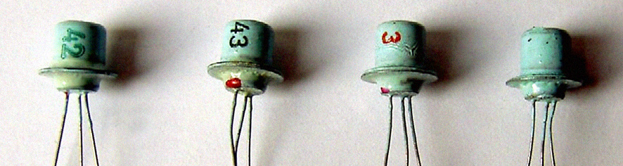 Composants - Transistors Sesco des 60s