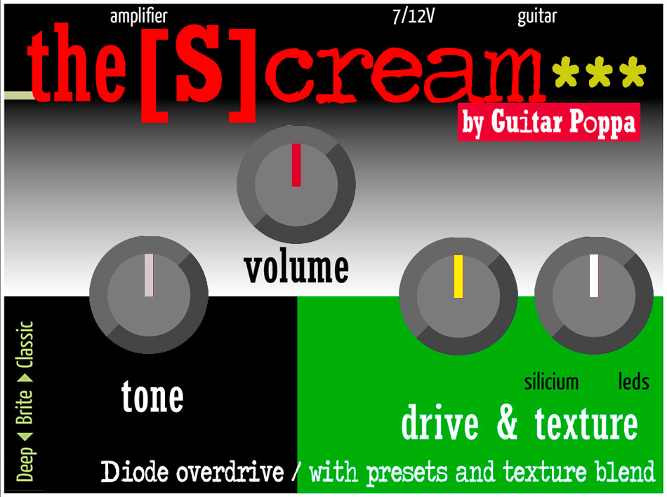The Scream, diode overdrive, version 3 stars