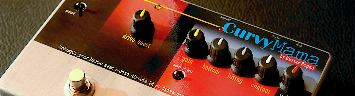 preamps for harp with solo Boost and balanced output to PA