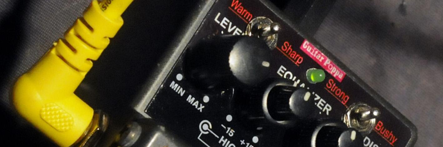 Actualité GuitarPoppa : Metal Zone modifiée pour l'harmonica.