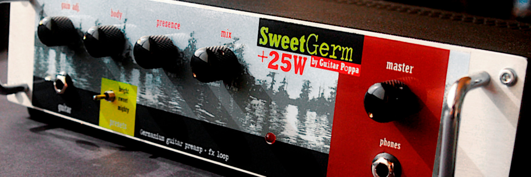 25W Silicium / Germanium hybrid amp head