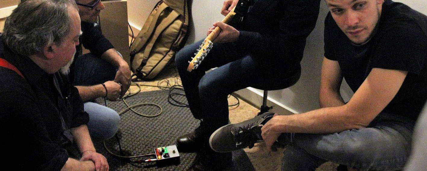 Guitar Poppa, The (S)cream, the Scream testé par Nasser Ben Dadoo, overdrive, TS9