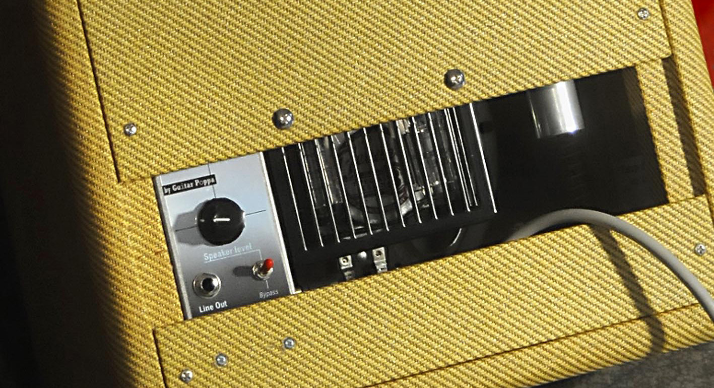 CoolCrunch5. Speaker attenuator in a Fender Champ 57 reissue