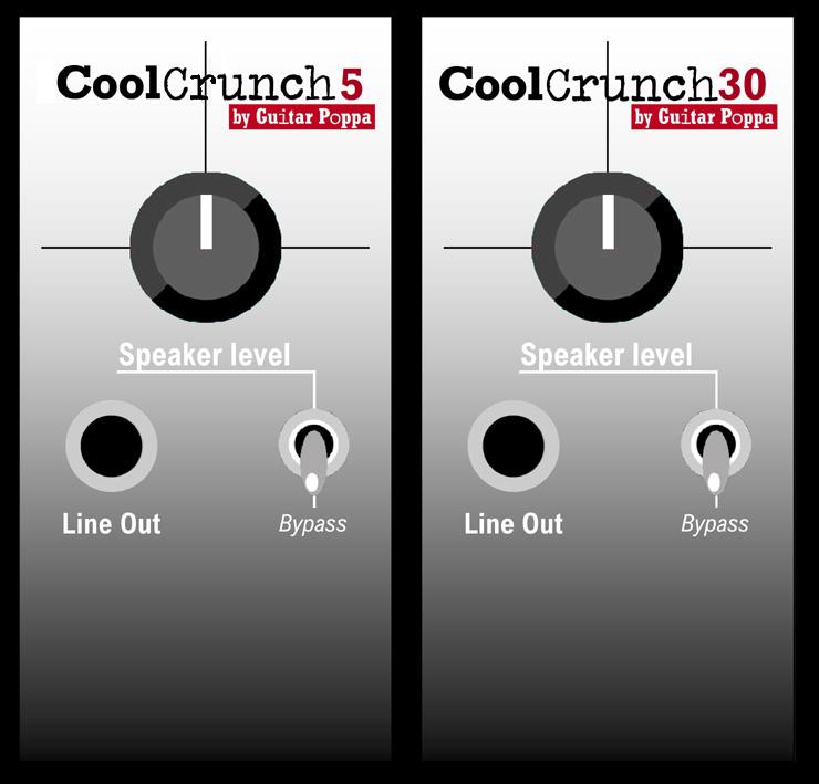 CoolCrunch30 & CoolCrunch30. Speaker attenuators for amps 5w and 30W