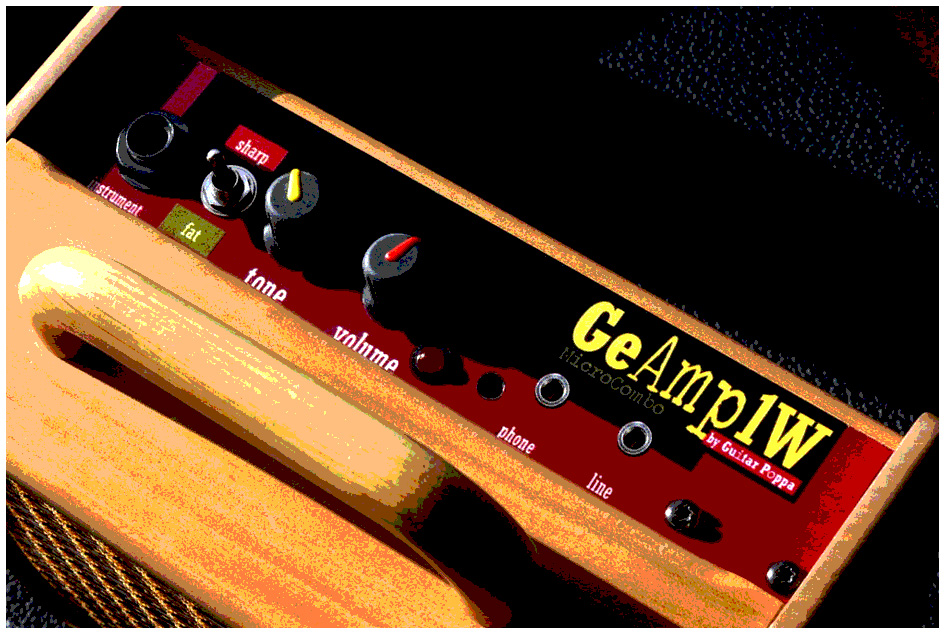 MicroCombo GeAmp1W - version ***