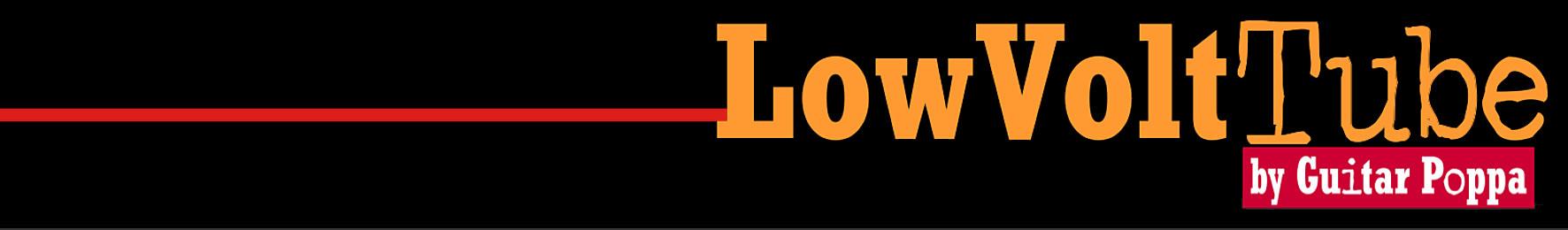 LowVoltTube preamp/overdrive - Logo