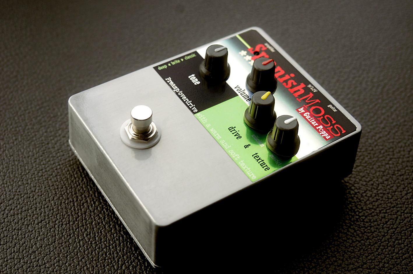 Overdrive SpanishMoss by GuitarPoppa.com - Diodes silicium et transdiodes MOSFET